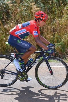71st Tour of Spain 2016 / Stage 9 Nairo QUINTANA Red Leader Jersey/ Cistierna…