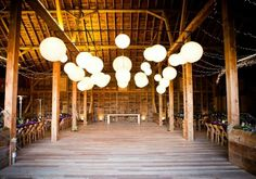 31 best barn party decoration ideas images barn parties, barnformal barn party overhead paper lanterns country dance, country barns, night club dance,