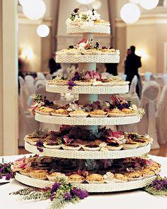 Ummm pie for wedding, no cake.