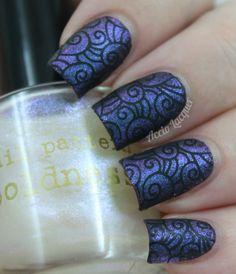 Resultado de imagen para stamped nails