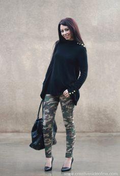 i like the pants and i like the sweater, but i'm not sure if i like them TOGETHER..hmmmm...