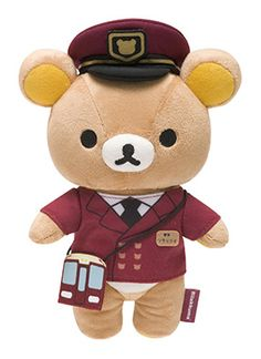 Rilakkuma Plushie, Plushies, Cute Stuffed Animals, Plush Dolls, Brown Bear, Sanrio, My Childhood, Fun Crafts, Teddy Bear