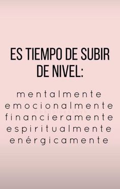 Inspirational Phrases, Motivational Phrases, Positive Mind, Positive Quotes, True Quotes, Words Quotes, Positive Inspiration, More Than Words, Spanish Quotes