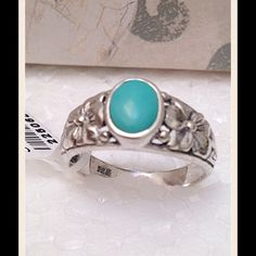 Beautiful Sonoran Blue Turquoise Beautiful Sonoran Blue Turquoise Oval cut Ring in .925 Sterling Silver Nickel Free (Size 9) TGW 1.170 CTs. This mine is now depleted. Jewelry