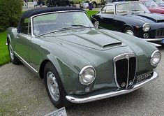 Lancia Aurelia B24 Convertible, 1953
