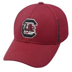 South Carolina Gamecocks NCAA Booster Plus Embroidered Hat Cap TOW 025036