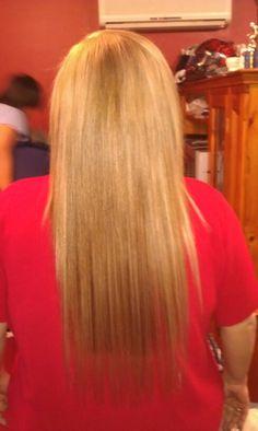 Hair extensions . 100 % hair .