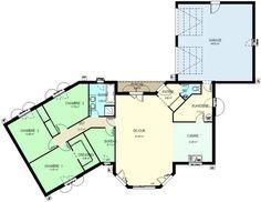 Surface habitable : 120m²  Surface séjour:37,85 m² Surface cuisine: 12,25 m² Surface buanderie: 7,70 m² Surface bureau: 6,10 m² Surface chambre 1: 11,60 m² Surface chambre 2: 12,10 m² Surface chambre 3: 11,75 m²  Surface garage : 45m²