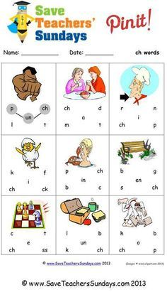 Reading And Phonics Worksheets For Kids  Printable Phonics