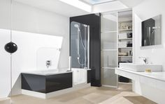 Modern Walk In Bathtubs With Shower Combo ~ http://lanewstalk.com/advantages-and-disadvantages-in-walk-in-bathtubs/