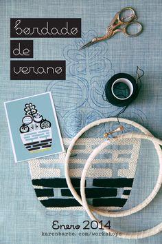 Embroidery | Karen Barbé | Textileria