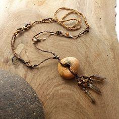 Custom Hag Stone Amulet Necklace