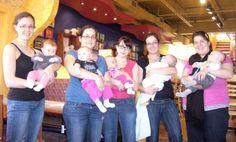 Maman Puce, Mini Puce et leur gang de Bedaines de Janvier 2013 au Céramic Café <3