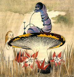 【絵本】「ムーミン」の原作者トーベ・ヤンソンの描いた『不思議の国のアリス』が素敵! | Amp.
