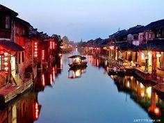 Xi tang water town, Shanghai, China