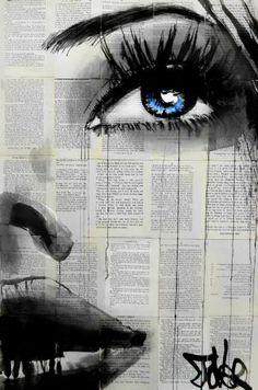 "Saatchi Art Artist Loui Jover; Drawing, ""promises"" #art"