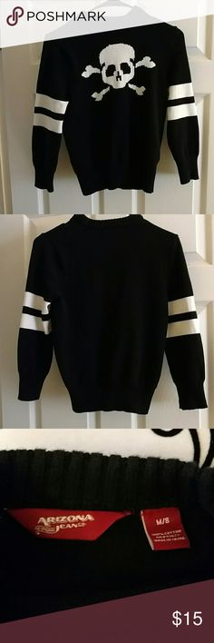 BOYS SWEATER Boys skull sweater never worn and in excellent shape. Arizona Jean Company Shirts & Tops Sweaters