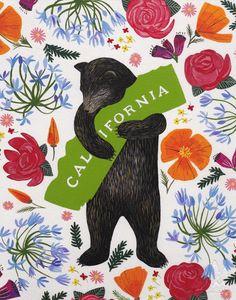 Agenda / Spirit of California / étapes: design & culture visuelle