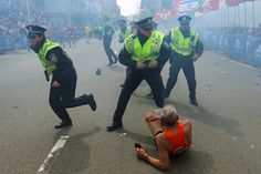 Boston Blast: Man Knocked Over By Explosion, Got Up, Finished Race (from @nprnews)
