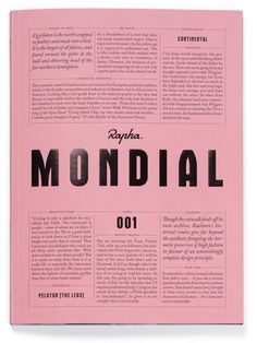 Rapha's text-loving publication is gearing up our aesthetics | Typeroom.eu