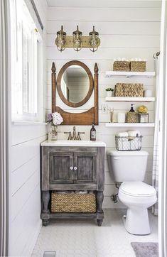 Cuartos de baño pequeños y elegantes | Decoración de Interiores ...