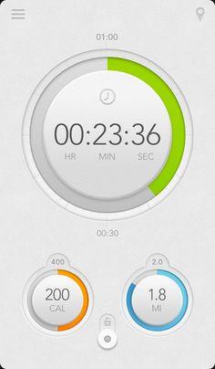 Kaiser Permanente Everybody Walk iPhone Pedometer App.