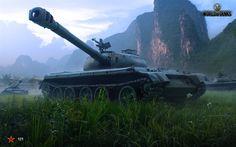 Hämta bilder World of Tanks, WoT, tank 121, Kinesiska tank, online-spel, tankar
