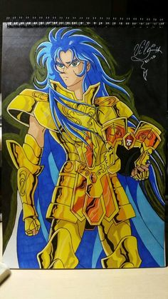 Knights of the Zodiac   Kanon Geminis  by Vila78