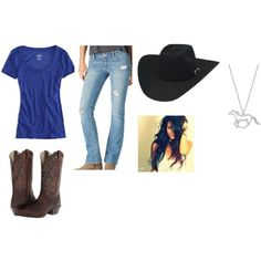 """""""going horse back riding"""" by bourgeois-bailey on Polyvore"""