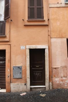 Rome Ghetto and Jewish Quarter showing the so called stolperstein marking the Jews deported from the houses to Auschwitz  Photos by Auschwitz Study Group Founder, Michael Challoner 2015.
