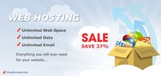 February 2013 - All You Can Eat Crazy Domains Web Hosting - SAVE 37%    There's never been a better time to get onboard with Crazy Domains Web Hosting with Unlimited Web Space, Data and Email and a massive 37% regular pricing!    This is for a limited time only so get in while its hot!