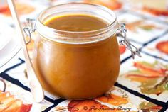 Clean Eating Pumpkin Butter is one of the most delicious autumn flavors you can enjoy this time of year. Find this and more clean eating recipes at TheGraciousPantry.com.