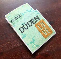 #EndlichFreitag #Anleitung für ein Klapp-Minialbum mit Tag und Leporello von Nina Menden für www.danipeuss.de