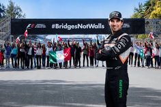 Sergio Perez and the Mexican Grand Prix promoters have shown their support for a campaign challenging a key policy of American president Donald Trump. Donald Trump, Mexico 2017, Mexican Grand Prix, Course Automobile, Trump Wall, Sergio Perez, F1 Season, News Around The World, American Presidents