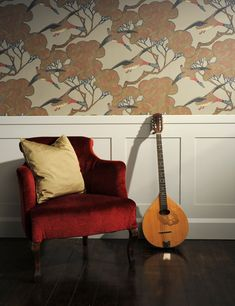 Shaker Wall Panelling | DIY MDF Kits | Painted Wall Panelling Painted Paneling Walls, Wall Panelling, Fall Color Palette, Grand Designs, Shaker Style, Traditional Design, Home Remodeling, Accent Chairs, New Homes