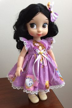 Vestido conjunto para muñeca de colección de 16 Disney por ramat26
