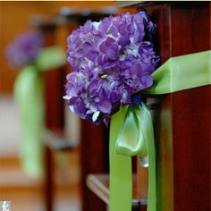 Different colors but I like the aisle decoration idea