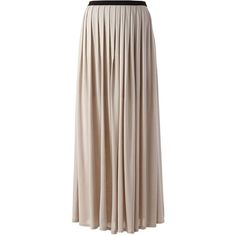 LC Lauren Conrad Pleated Maxi Skirt - Women's (€18) ❤ liked on Polyvore featuring skirts, bottoms, faldas, chateau gray, long grey maxi skirt, pleated skirts, long skirts, gray pleated skirt and long maxi skirts