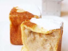 紅茶のクリームパンの画像