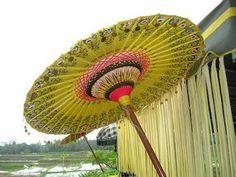 Balinese ceremonial umbrella
