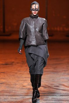 Rick Owens Fall 2012 Ready-to-Wear Fashion Show - Dorothea Barth Jorgensen (OUI)