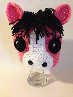 Items similar to Friendly Horse Crochet Hat Pattern on Etsy Crochet Kids Hats, Cute Crochet, Charlie Horse, Star Wars Crochet, Holiday Hats, Cute Hats, Ear Warmers, Loom Knitting, Baby Sewing