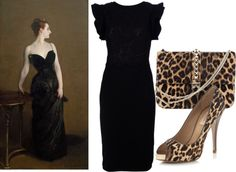 """Madame X's Wild Side"" by ritaannesmith on Polyvore"