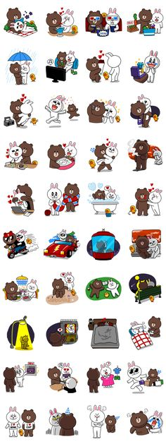 画像 - Brown & Cony's Secret Date! by Line - Line.me