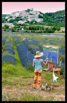 the painter of lavander