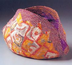 Pod by Bird Ross is made from vintage silk kimono and thread.