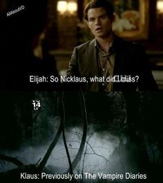 Funny Vampire Diaries Quotes | Klaus & Elijah funny :D – The Vampire Diaries TV Show Fan Art … | best stuff