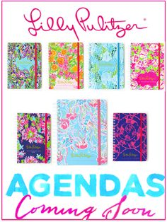 221237c3a180c6 Lilly Pulitzer 2014-2015 Agendas  Pre-Order Now  Organization Tips Southern  Prep
