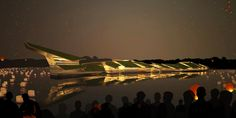 Floating dragon healthy living center, Le Dao Island, China / Waterstudio