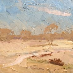 The Muted Plains. Bourke. 30x30cm